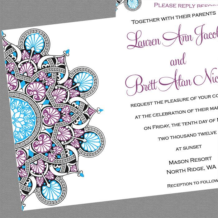 19 best paper Indian wedding invites images on Pinterest Indian