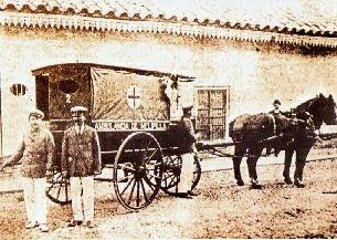 Ambulancia del Hospital San José de Melipilla. Siglo XIX.