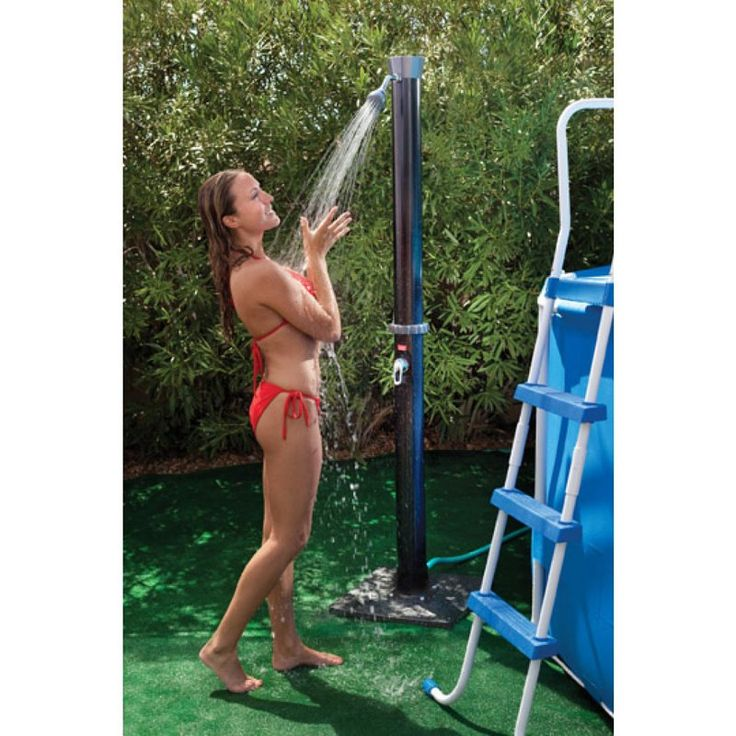 GAME Outdoor Solar Shower with Base | from hayneedle.com