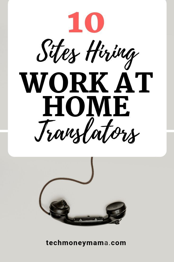 Translation Jobs From Home – 10 PROVEN Sites Hiring