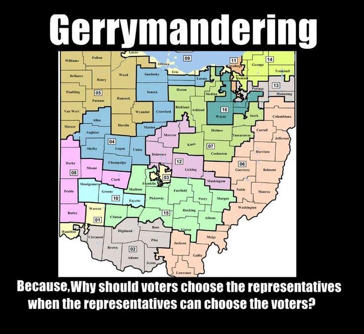 Image result for gerrymandering meme