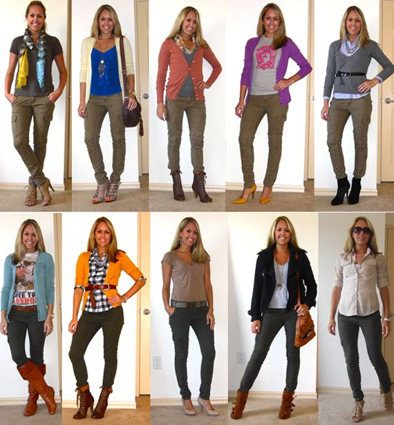 colors to match brown pants | What To Wear With Khaki Pants – Khaki Pants For Women