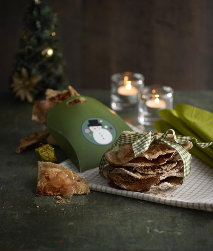 Fariininäkkärit: http://www.dansukker.fi/fi/resepteja/fariininakkari.aspx Tarjoa nautittavaksi sellaisenaan tai hillon ja juuston kanssa.