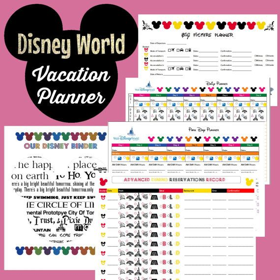 The 25+ best Vacation planner ideas on Pinterest | Disney planner ...