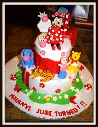 #Cake #AvonBakers #WeBakeMemories #Bakery #Food With many cartoon characters like Piglet , Winnie the pooh , Tigger, Mini mouse etc., this cake is like a dream cake for your child. Order Online at www.avonbakers.com for delivery of these cookies at your doorstep in Delhi , Meerut, Modinagar , Noida , Gurgaon , Ghaziabad and Faridabad.