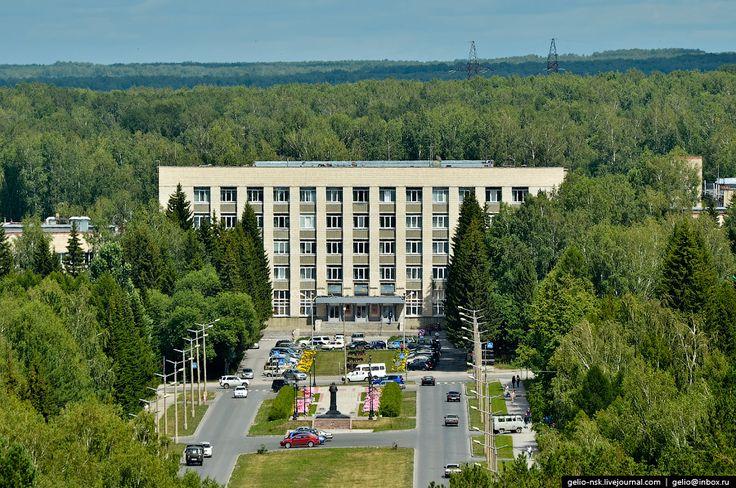Новосибирский Академгородок с высоты - Gelio (Степанов Слава)
