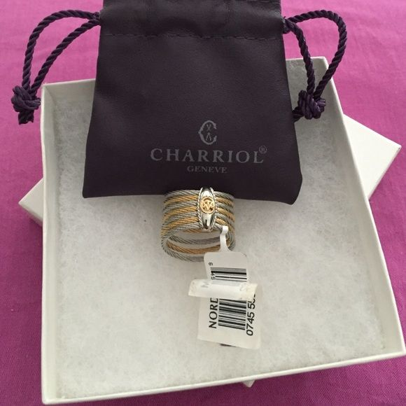 Charriol Ring Brand new 18K ring size 7 Philippe Charriol Jewelry Rings
