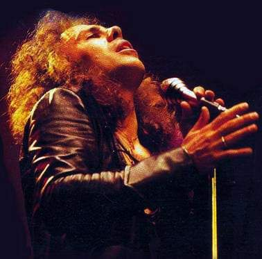 Dio: Dio was an American heavy metal band formed in 1982 and led by vocalist Ronnie James Dio, after he left Black Sabbath with intentions to form a new band with fellow former Black Sabbath member, drummer Vinny Appice.