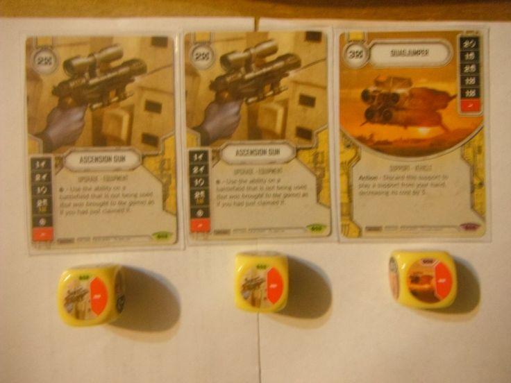 CCG Individual Cards 183454: Star Wars Destiny Spirit Of Rebellion Legendary Quadjumper, X2 Ascension Gun -> BUY IT NOW ONLY: $42.95 on eBay!