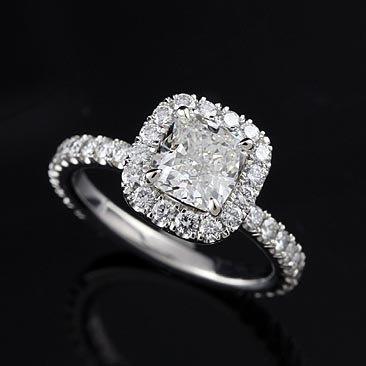 Platinum Cushion Diamond Engagement Ring ... YES this will do ...Diamond Engagement Rings, Rings Jewelry, Platinum Cushions, Rings Mount, Diamonds Rings, Dreams Rings, Platinum Diamonds, Diamonds Engagement Rings, Cushions Diamonds
