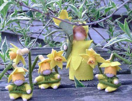 March ~ Daffodil ~ Flower Children