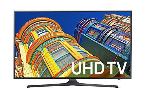 Samsung KU6300 43 inch 4K UHD TV (2016 Model) Enjoy 4K Ultra HD resolution and High Dynamic Range (HDR) content that delivers greater clarity with Micro Dim