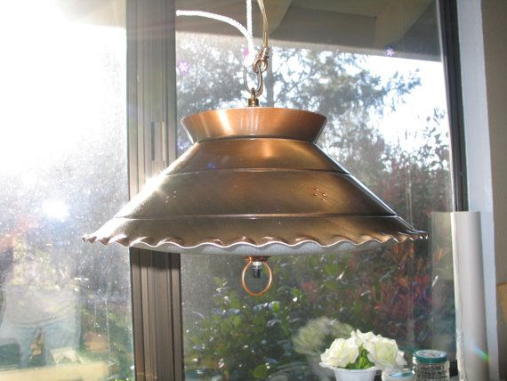 vintage kitchen light 1960 s vintage copper finish kitchen light fixture mid 3220