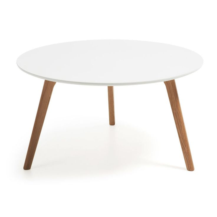 #Moderne Linien Duneyr Coffee Table //  Möbel / Tische / Couchtische  -   Modern Interior presents the Duneyr Coffee Table in a choice of materials, each variation with its own distinct character. Choose this round 3-legged coffee table in a classic Scandinavian combination of natural wood and white or in clean and modern glass and wood.  -->  EUR   149.00 // check out more --> dyh.com/de/