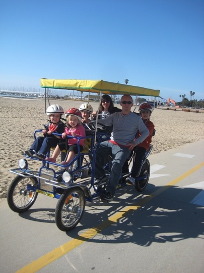 Wheel Fun Rentals - Santa Barbara, CA - Kid friendly activity reviews - Trekaroo