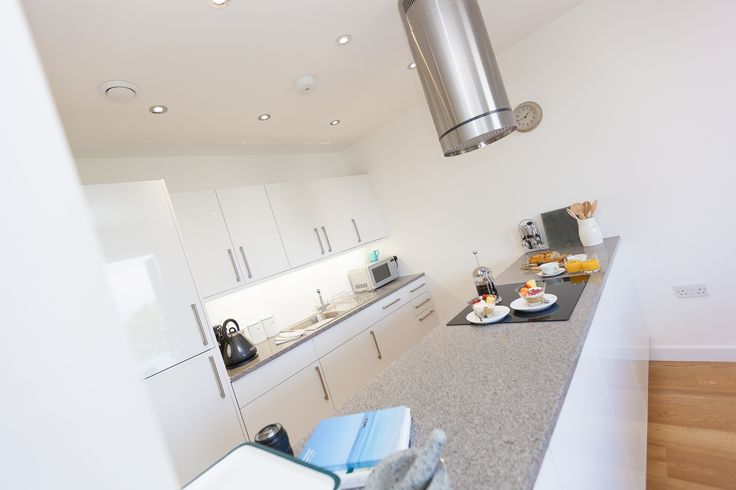 Love the funky extractor fan in the kitchen! www.cherishedcottages.co.uk