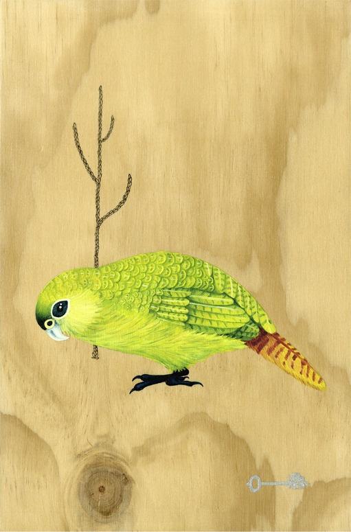 Kakapo Print