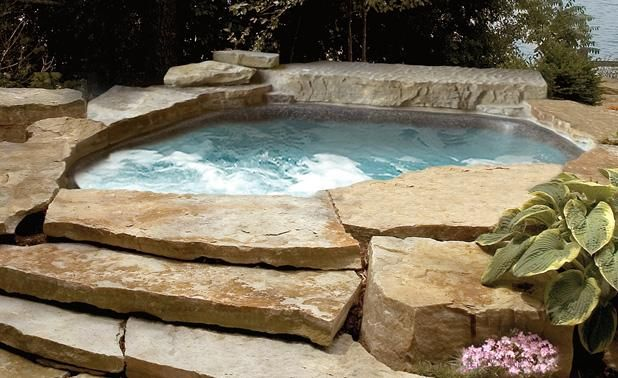Hot Tub For The Home Pinterest Project Ideas Of And
