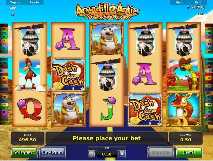 Armadillo Artie Dash For Cash - http://www.automaty-ruleta-zdarma.com/hraci-automat-armadillo-artie-dash-for-cash-zdarma-online/