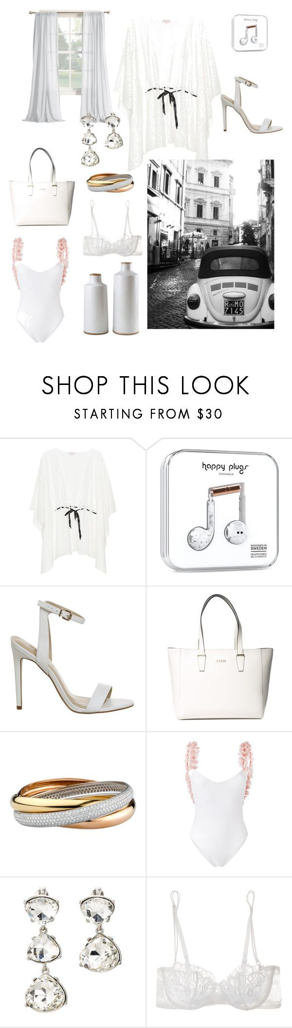 """Senza titolo #166"" by robbys73 ❤ liked on Polyvore featuring GUESS, La Revêche, Kenneth Jay Lane, La Perla and Signature Design by Ashley"
