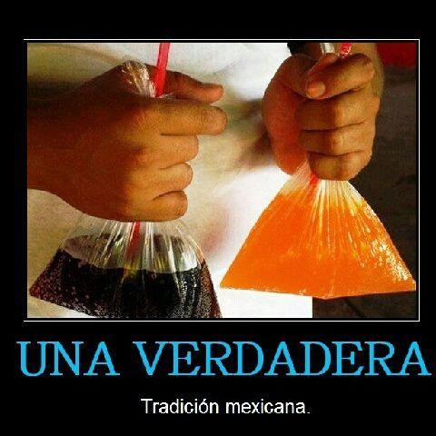 en Mexico la botella del refresco usualmente es de vidrio y es retornable, asi que para no comprarla pides tu refresco en bolsa.