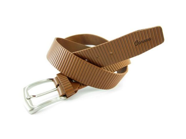 #Cinturón de #cuero grabado para hombre. Hecho a mano. Excelente calidad y buen precio. #Artesanía en #piel en www.manosesmas.com
