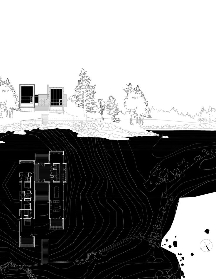 Two Hulls House. Location: Halifax, Canada; firm: MacKay-Lyons Sweetapple Architects; year: 2012