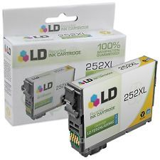 LD Recycled Yellow Ink Cartridge LD-T252XL420 Epson High Yield 252XL Workforce