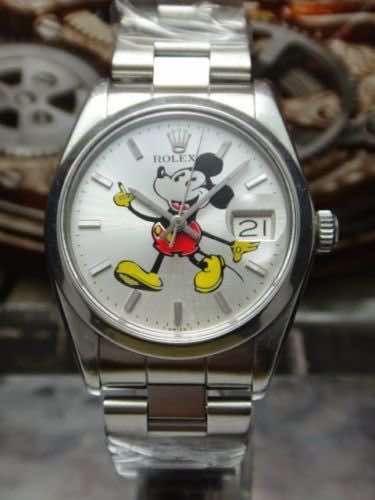 f9882da88b8a6b rolex 6694 con quadrante di Topolino | watches | Rolex wrist watch ...