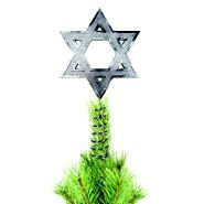 Interfaith Decorations Hanukkah Tree Topper.....does that make sense?
