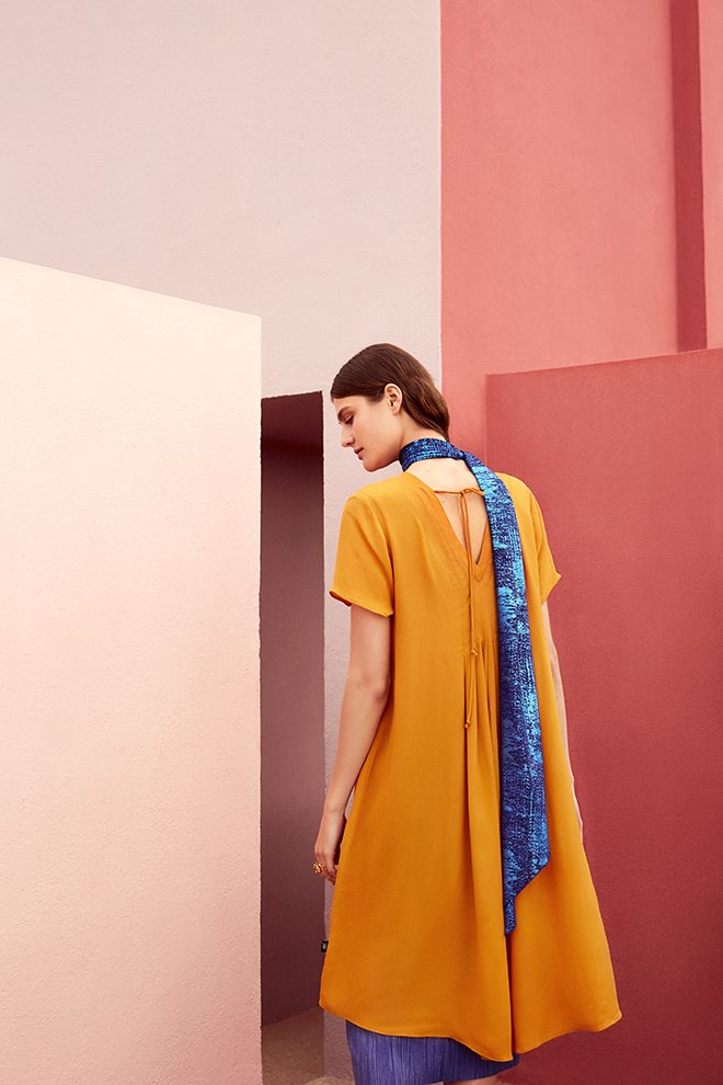 Campaign High Summer | Fashion | Inspired | Photography | Colorful | New Collection | Yellow Ochre