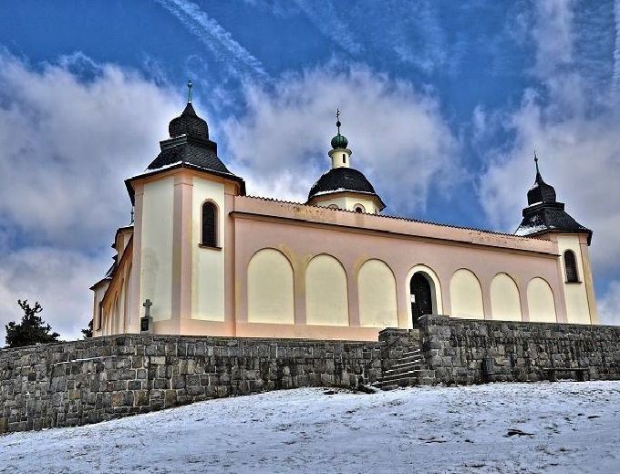 The chapel of The Guardian Angel, Sušice (West Bohemia), Czechia