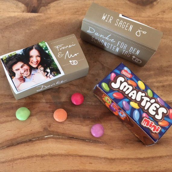 Guest Gifts Wedding Smarties