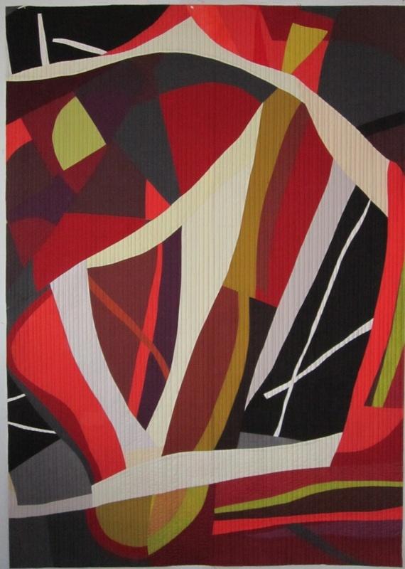 """Resonance, 42"""" x 59"""", 2012: Artquilt, Heather Pregger, Quilts Inspiration, Quilts Modern, Quilts Art, Art Quilts, Contemporary Quilts, Fiber Art, Modern Quilts"""