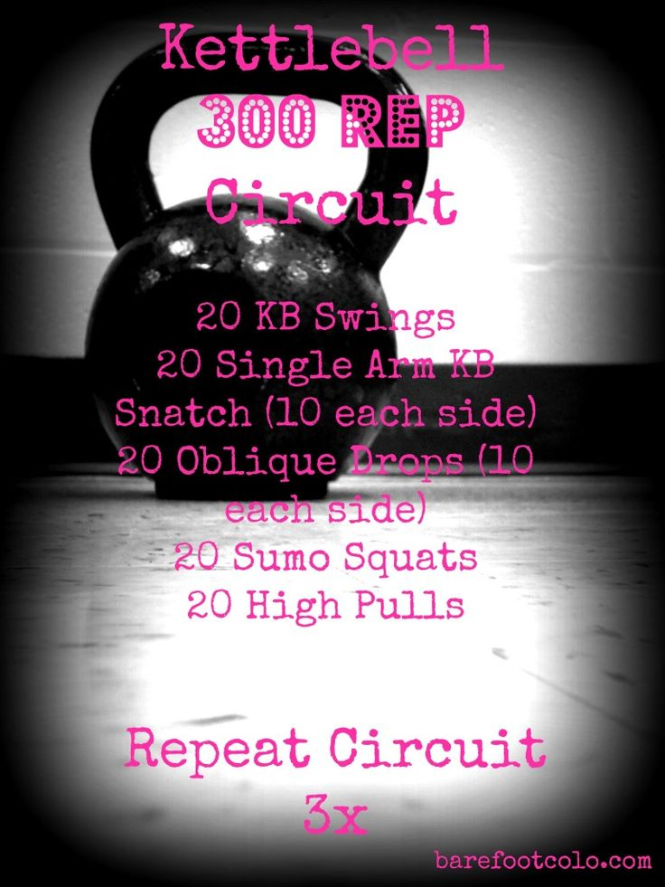 Kettlebell Workout! You can do this at home or the gym... all you need is a set of kettlbells. #functionaltraining #WOD