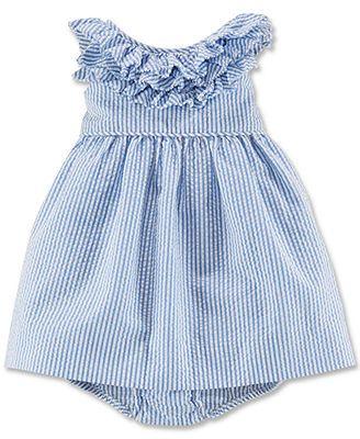 Ralph Lauren Baby Girls' Seersucker Dress