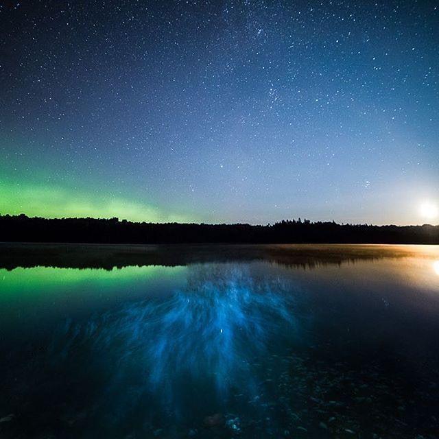 Le jour comme la nuit, des couleurs à l'infini! Photo : @jordy.smits / Instagram