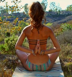 #Yoga pose ~ Do it !! i love this pose. it just opens up my back and gets rid of all my tension!