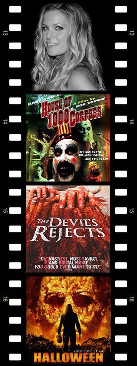 Scream Queen - Sherri Moon Zombie (House of 1000 Corpses - 2003) (The Devil's Rejects - 2005) (Halloween - 2007)