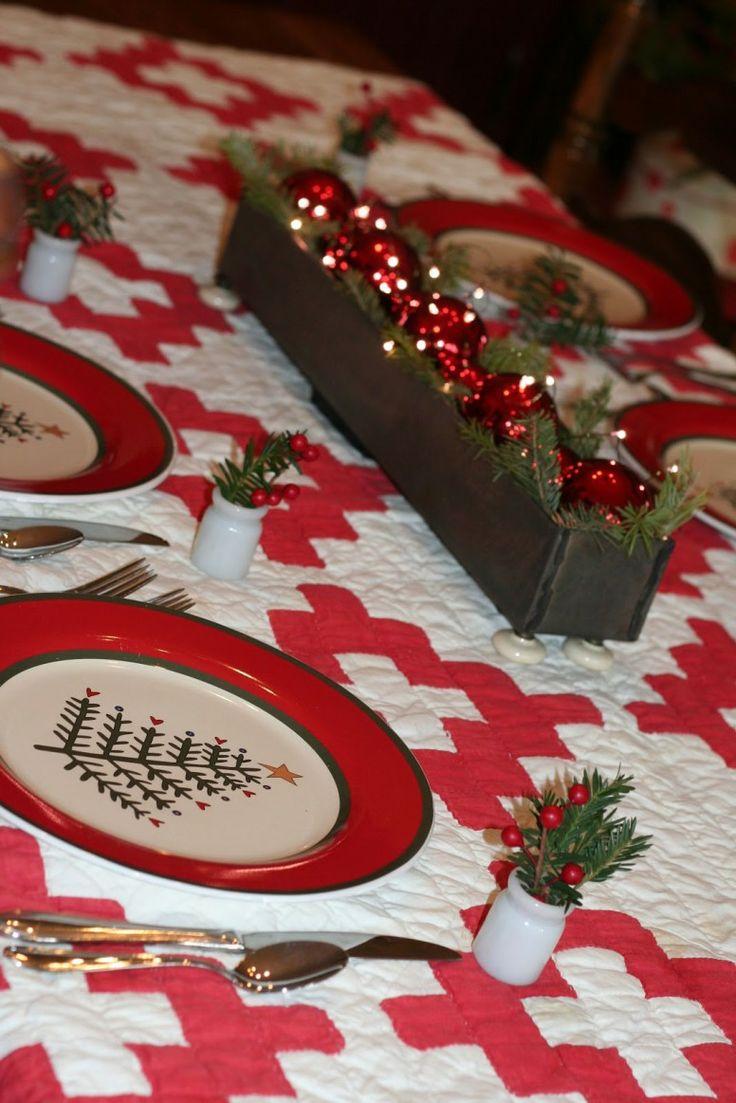 Diy christmas table decorations ideas - Easy Christmas Table Decorations Collection Ideas Exotic And Easy Inspiration Christmas Table Decorations Ideas