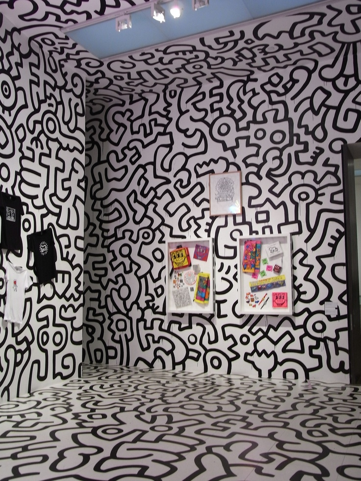 Design An Exhibition Stand : Keith haring pop up shop tate modern london inspiration