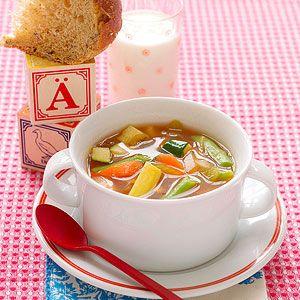 Yummy Soups and Sandwiches: Garden Vegetable Soup (via Parents.com)