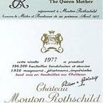 """For the backgroundstories you're also at the right place with De WijNGekken! .... Now the labels of Chateau Mouton Rothschild ..... 1977 ..... a special year .....    De etiketten van Chateau Mouton Rothschild, """"1977"""" 