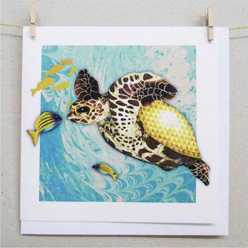 Cards - Hawksbill Sea Turtle