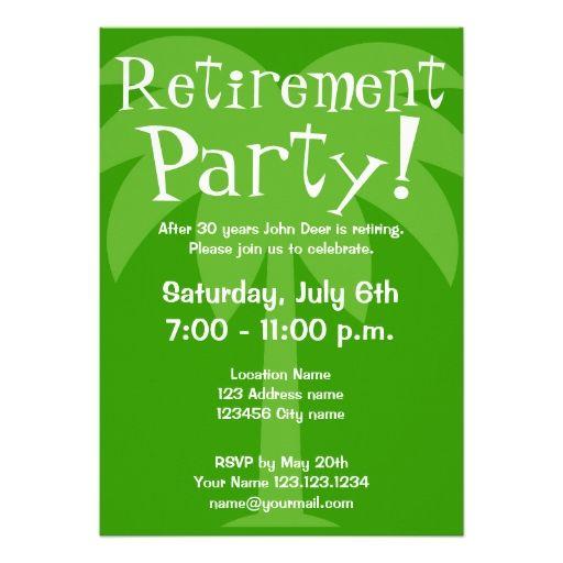 retirement party invitations aloha retirement pinterest