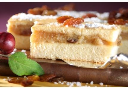 Szarlotka na lanym cieście. Kliknij w zdjęcie, aby poznać przepis. #ciasta #ciasto #desery #wypieki #cakes #cake #pastries