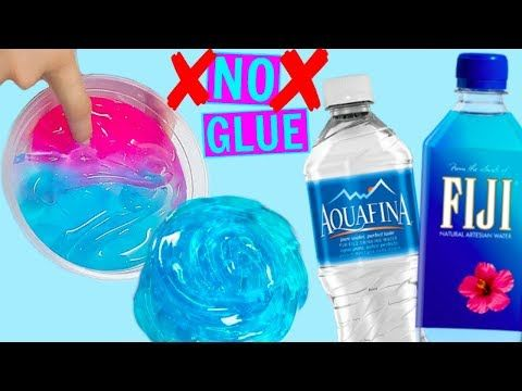 Water Slime How To Make Clear Slime Without Glue Without