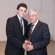 Scott Noddin, BComm'10 Young Alumni Award