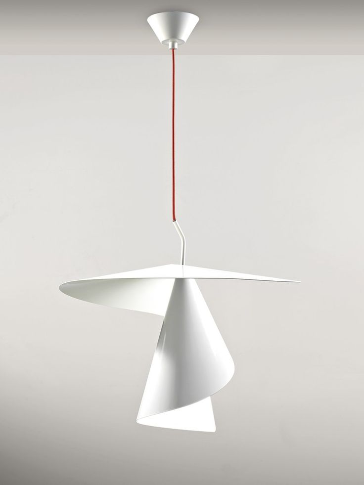 Design aluminium pendant lamp spiry by axo light design giovanni barbato
