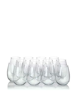 45% OFF Ravenscroft Crystal 16-Piece Stemless Red Wine Glass Party Pack, 17-Oz.